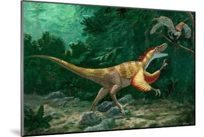 Feathered Dinosaurs-Chris Butler-Mounted Photographic Print