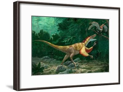 Feathered Dinosaurs-Chris Butler-Framed Photographic Print