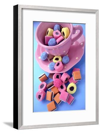 Liquorice Sweets-Erika Craddock-Framed Photographic Print