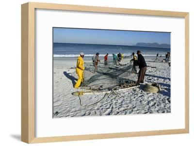 Trek Net Fishing-Peter Chadwick-Framed Photographic Print