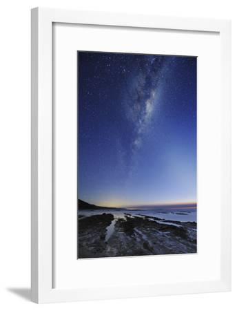 Milky Way Over Cape Otway, Australia-Alex Cherney-Framed Photographic Print