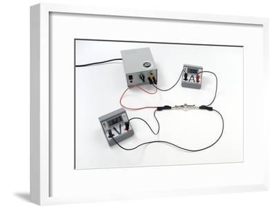 Simple Electrical Circuit-Trevor Clifford-Framed Photographic Print