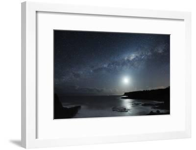 Milky Way Over Mornington Peninsula-Alex Cherney-Framed Photographic Print