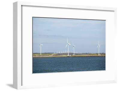Wind Turbines, Netherlands-Colin Cuthbert-Framed Photographic Print