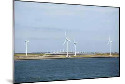 Wind Turbines, Netherlands-Colin Cuthbert-Mounted Photographic Print