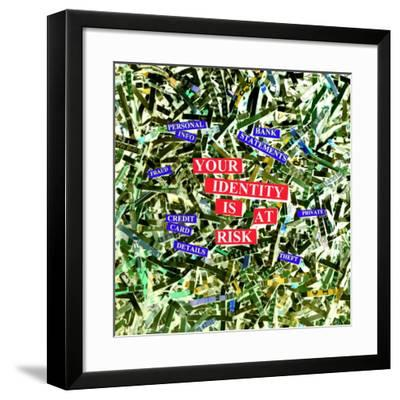 Identity Fraud-Kevin Curtis-Framed Photographic Print