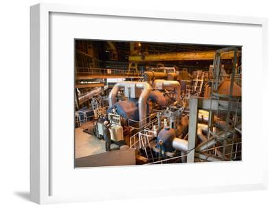 Power Station Turbine Hall-Colin Cuthbert-Framed Photographic Print