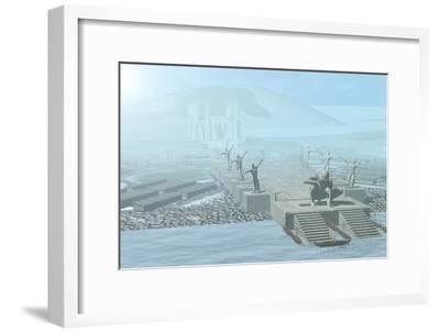 Atlantis-Christian Darkin-Framed Photographic Print
