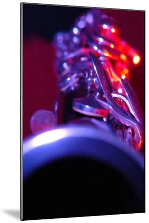 Clarinet-Crown-Mounted Photographic Print