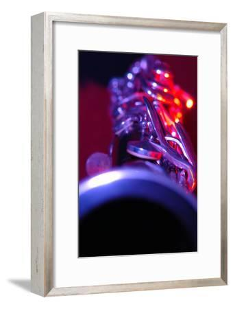 Clarinet-Crown-Framed Photographic Print