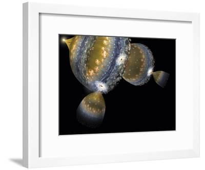 Multiple Universes, Artwork-Henning Dalhoff-Framed Photographic Print