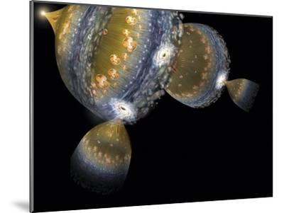 Multiple Universes, Artwork-Henning Dalhoff-Mounted Photographic Print