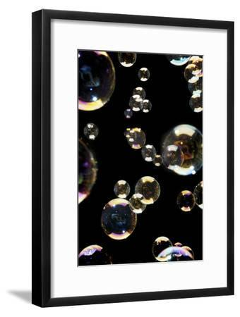 Bubbles-Crown-Framed Photographic Print