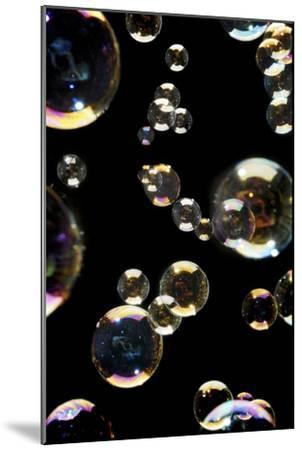 Bubbles-Crown-Mounted Photographic Print
