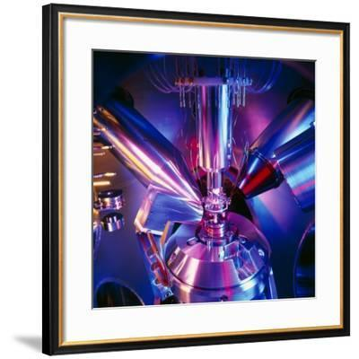 Scanning Electron Microscope-Colin Cuthbert-Framed Photographic Print