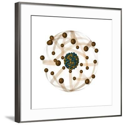 Atomic Structure, Artwork-Crown-Framed Photographic Print