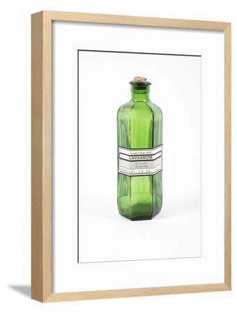 Antique Laudanum Bottle-Gregory Davies-Framed Photographic Print