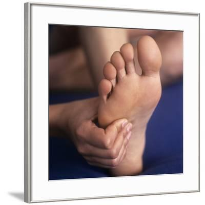 Reflexology Massage-Cristina-Framed Photographic Print