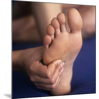 Reflexology Massage-Cristina-Mounted Photographic Print