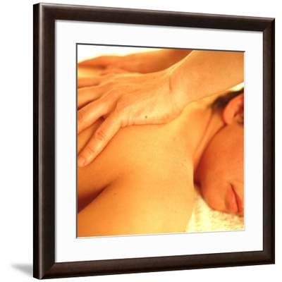 Massage-Cristina-Framed Photographic Print