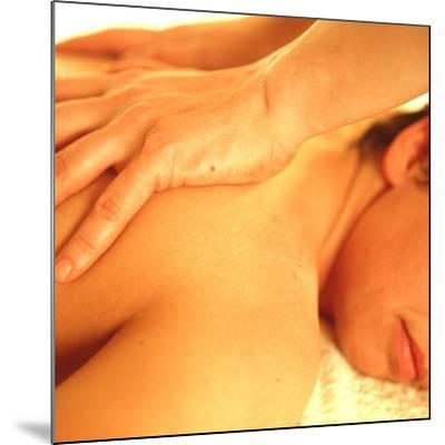 Massage-Cristina-Mounted Photographic Print