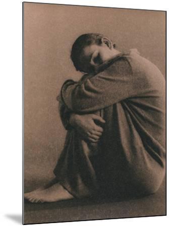 Depression-Cristina-Mounted Photographic Print