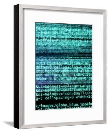 Internet Computer Code-Christian Darkin-Framed Photographic Print