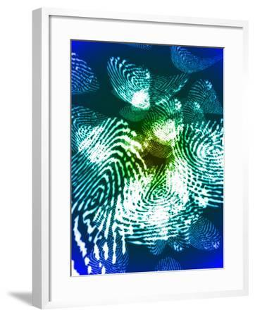 Fingerprints, Computer Artwork-Christian Darkin-Framed Photographic Print