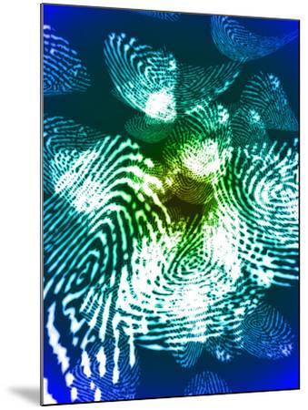 Fingerprints, Computer Artwork-Christian Darkin-Mounted Photographic Print