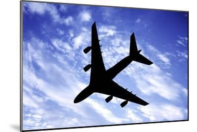 Aeroplane In Flight-Victor De Schwanberg-Mounted Photographic Print