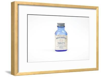 Antique Milk of Magnesia Bottle-Gregory Davies-Framed Photographic Print
