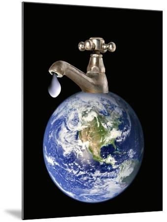 Water Conservation, Conceptual Image-Victor De Schwanberg-Mounted Photographic Print