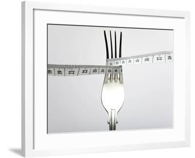 Dieting, Conceptual Image-Victor De Schwanberg-Framed Photographic Print