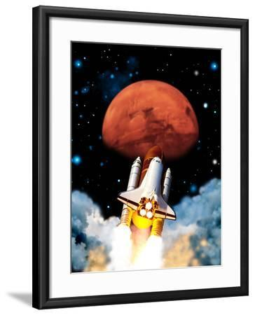 Mars Exploration-Victor Habbick-Framed Photographic Print