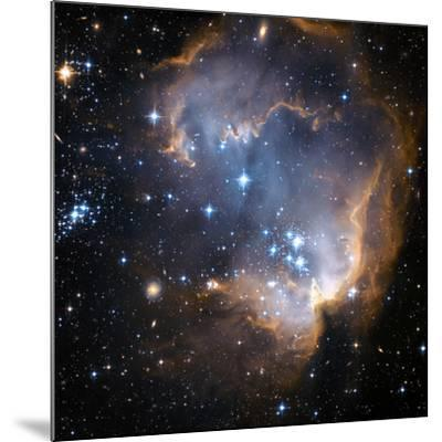 Starbirth Region NGC 602-Hubble Heritage-Mounted Photographic Print
