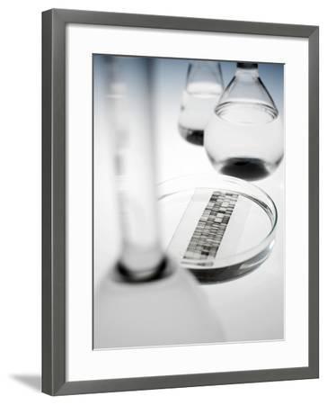 DNA Autoradiogram-Tek Image-Framed Photographic Print