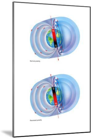 Magnetic Field Reversal-Gary Hincks-Mounted Photographic Print