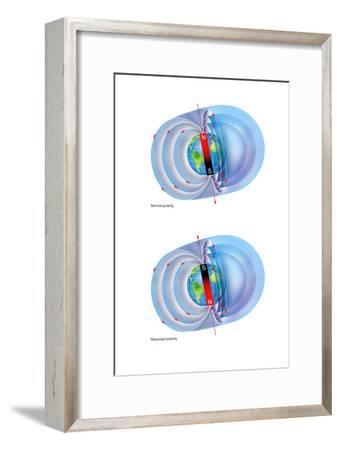 Magnetic Field Reversal-Gary Hincks-Framed Photographic Print