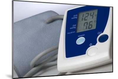 Digital Blood Pressure Monitor-Steve Horrell-Mounted Photographic Print