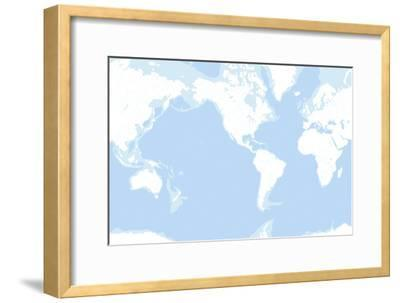 Earth's Oceans, Rivers And Lakes-Gary Hincks-Framed Photographic Print
