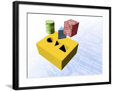 Technology Education-Victor Habbick-Framed Photographic Print