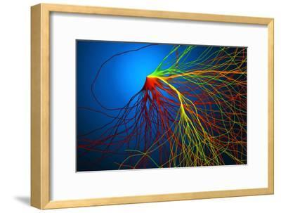 Electron Flow-Eric Heller-Framed Photographic Print