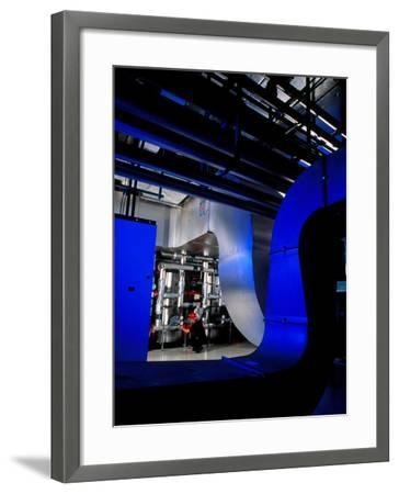 Air Conditioning Pipes.-Tek Image-Framed Photographic Print