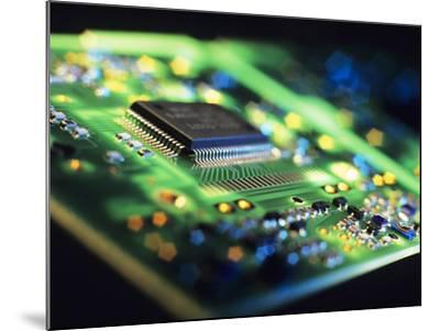 Circuit Board-Tek Image-Mounted Photographic Print