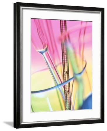 Laboratory Glassware-Tek Image-Framed Photographic Print