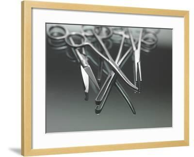Surgical Instruments-Tek Image-Framed Photographic Print