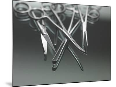 Surgical Instruments-Tek Image-Mounted Photographic Print