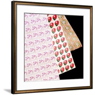 Sheets of LSD (acid) Tabs-Tek Image-Framed Photographic Print