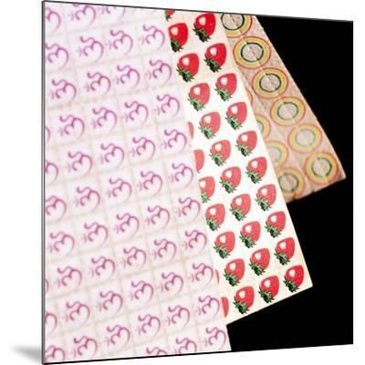 Sheets of LSD (acid) Tabs-Tek Image-Mounted Photographic Print