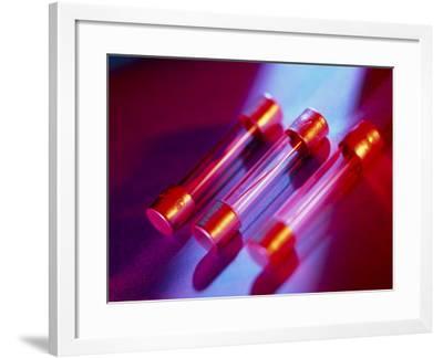 Electrical Fuses-Tek Image-Framed Photographic Print